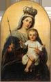 Obraz przedstawiający Matkę Boską Różańcową